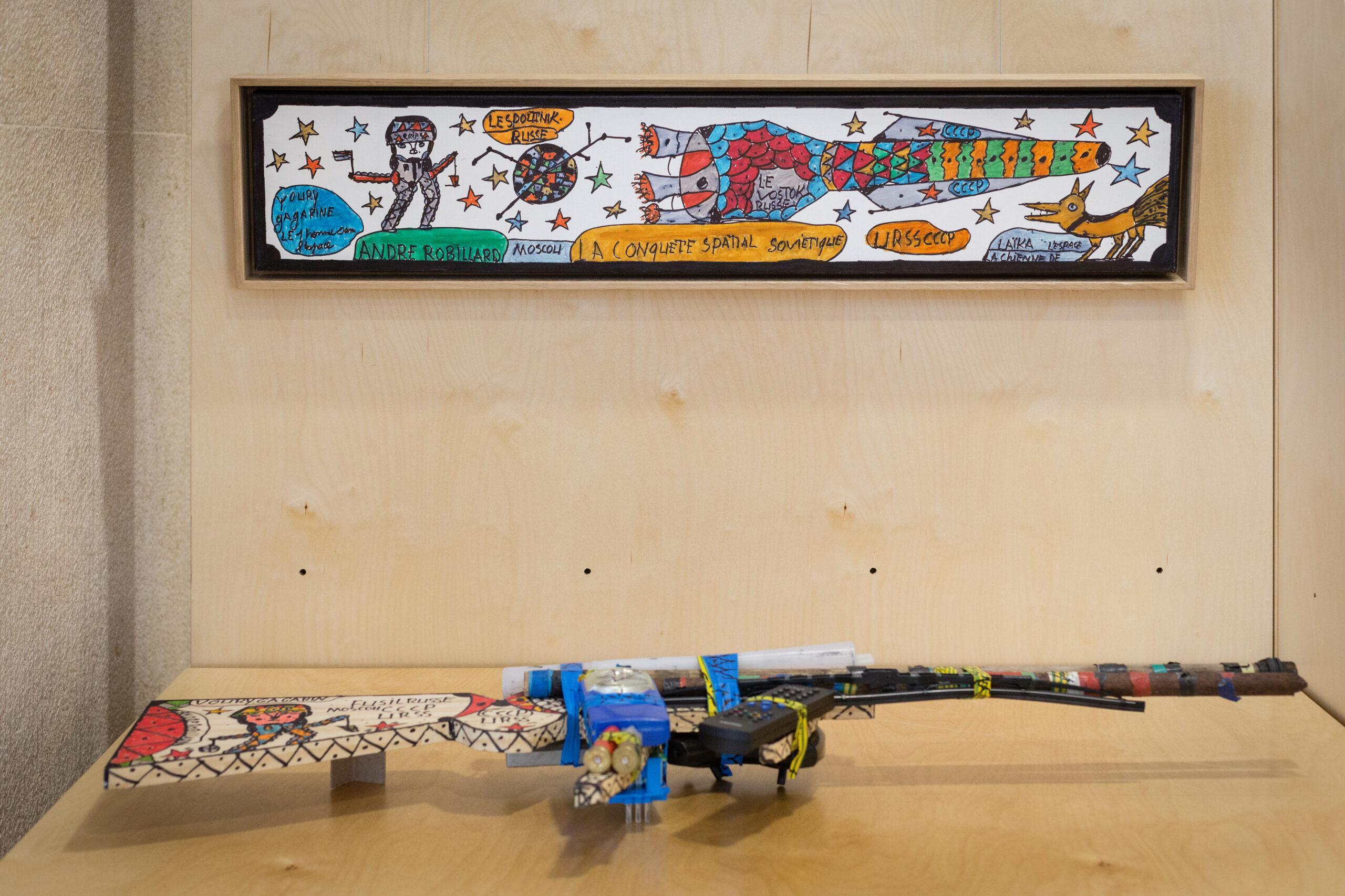 Fonds Art sans exclusion, image de l'exposition itinérante