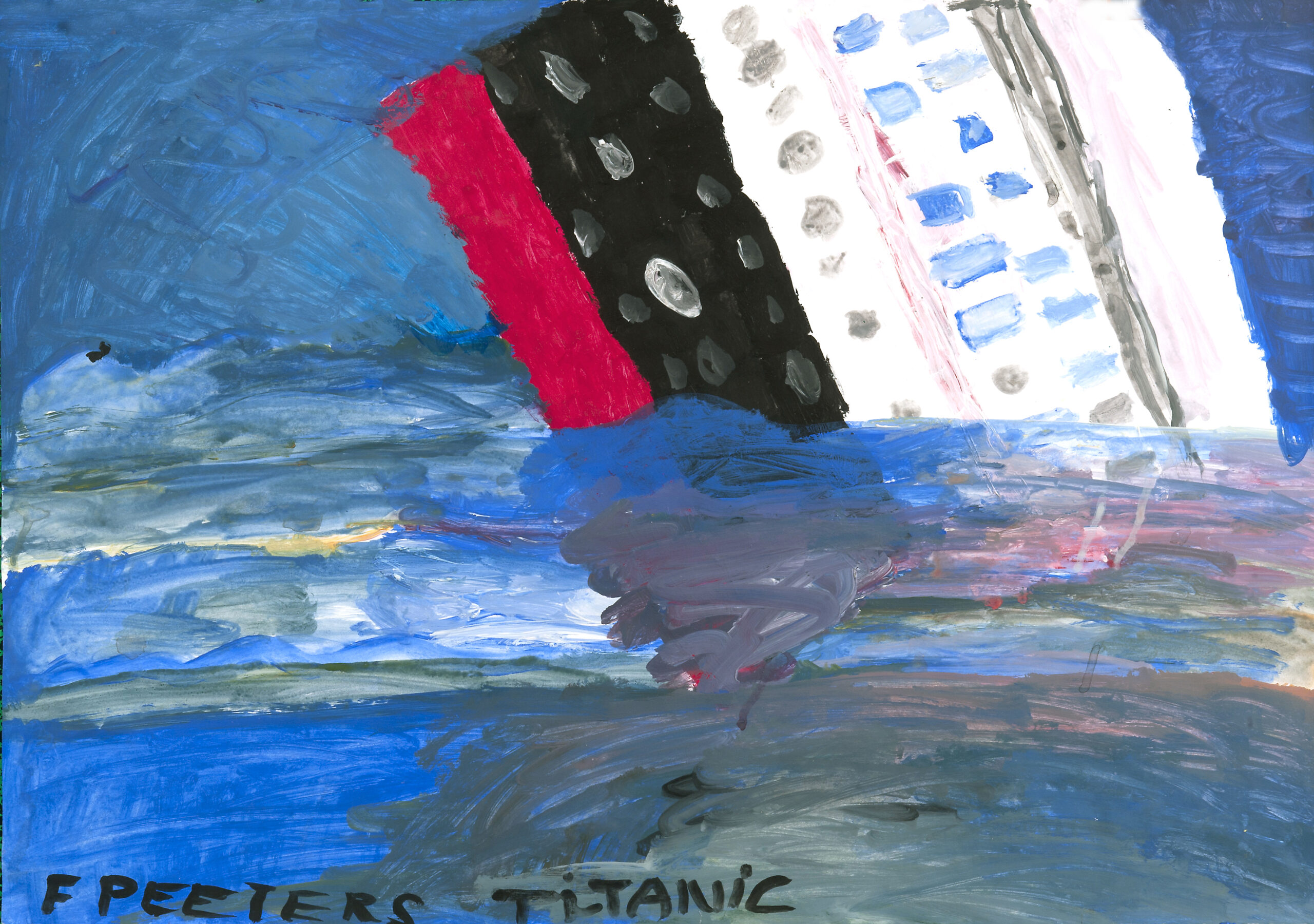 François Peeters, Série Titanic 4, 2010