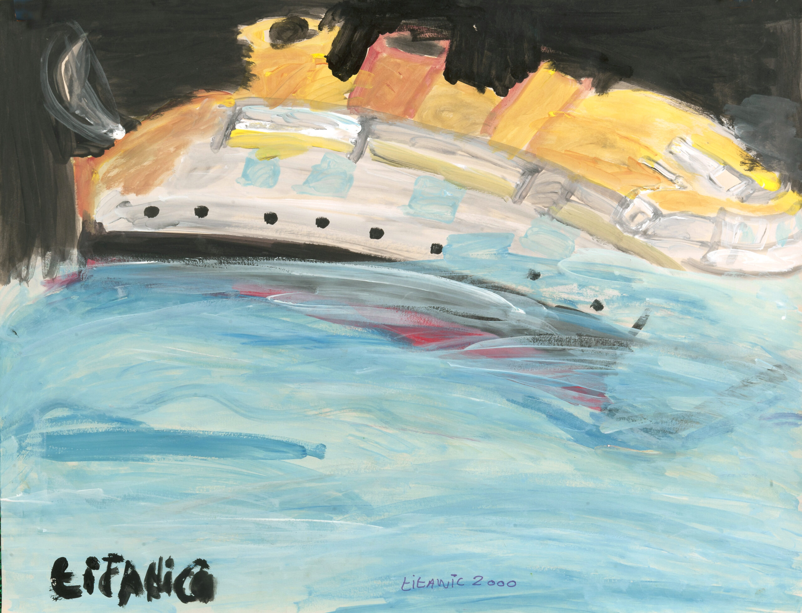 François Peeters, Série Titanic 1, 2010