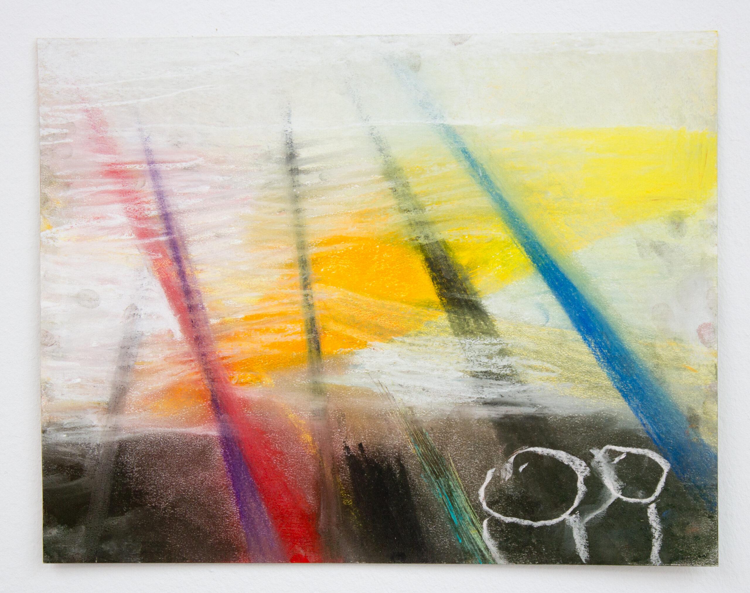 Miriam Cahn, Beschuss, 2011