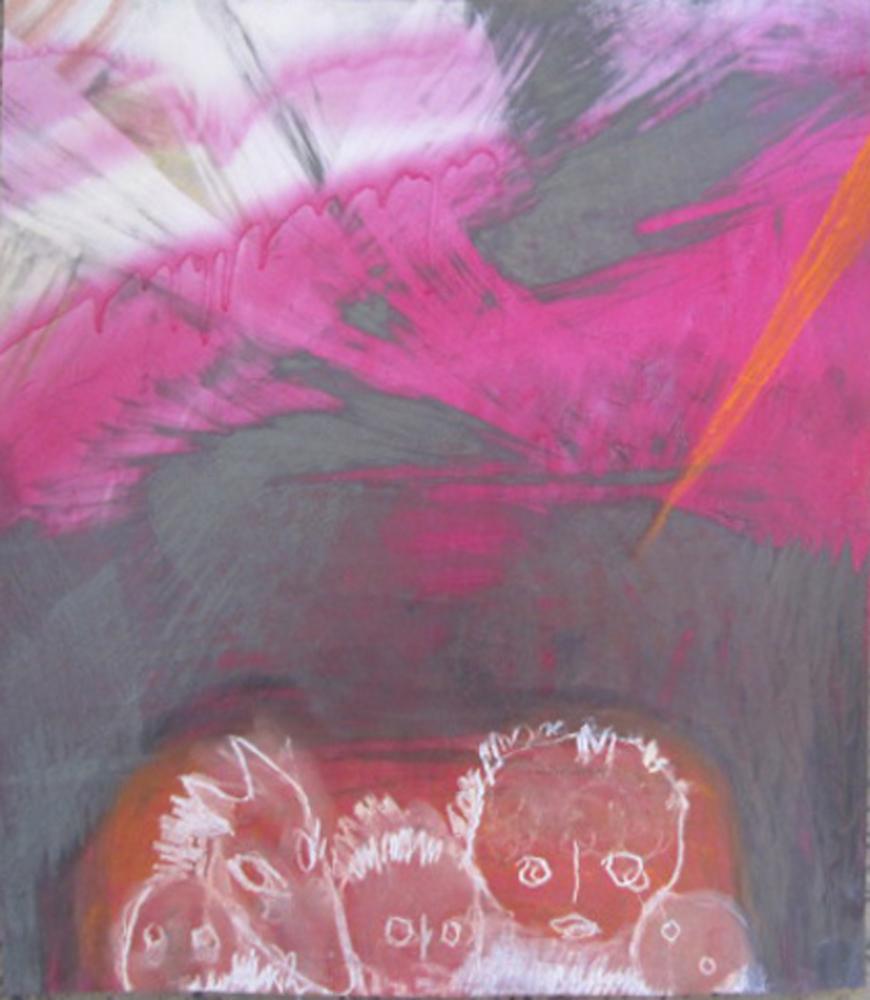 Miriam Cahn, Sans titre, 2014