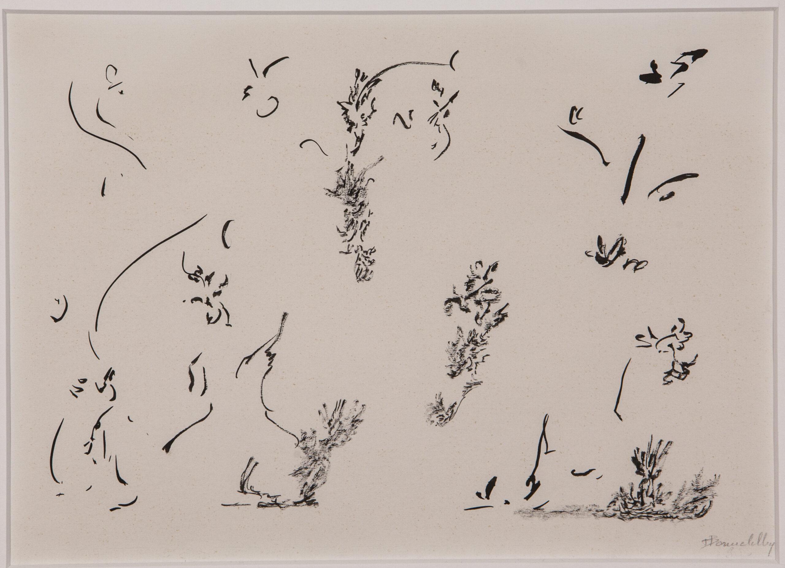 Thérèse Bonnelalbay, Sans titre, 1970