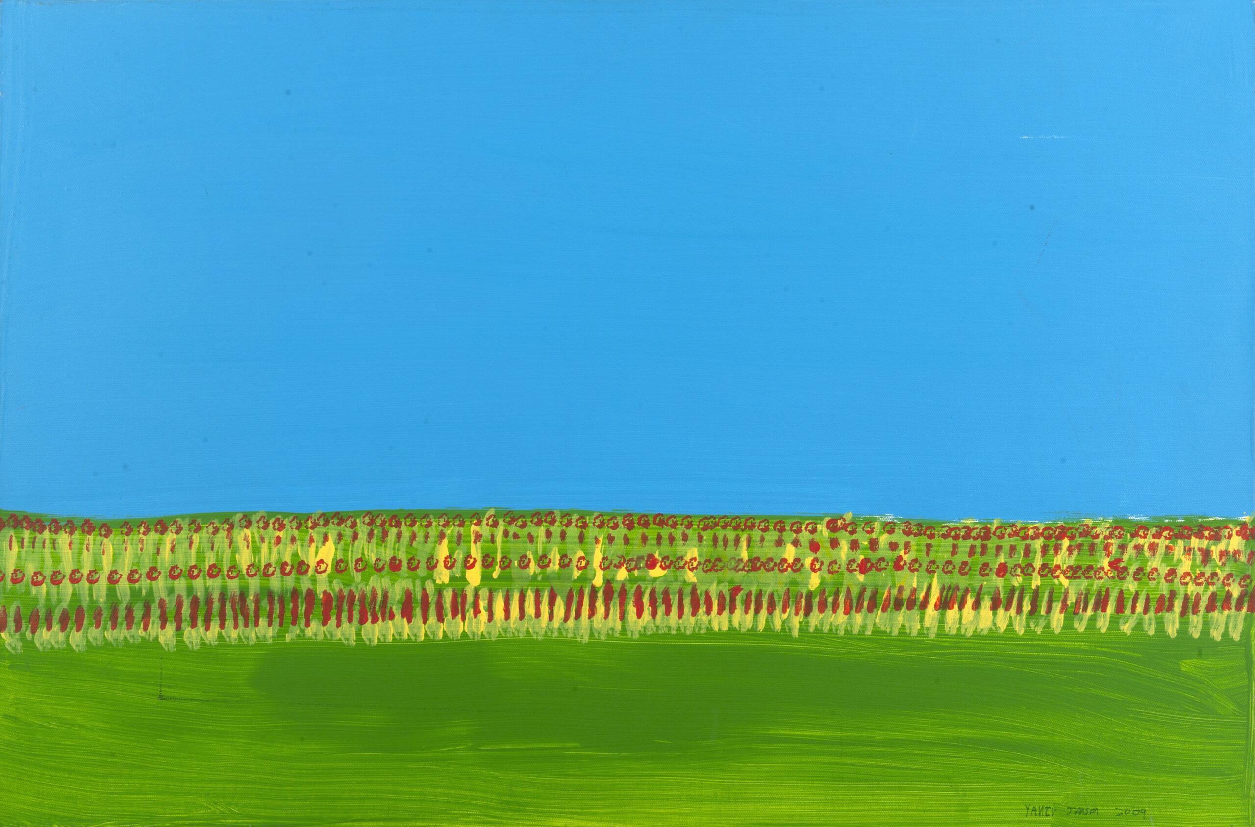 Yaniv Janson. La prairie, 2011